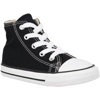 Chaussures Enfant Baskets mode Converse Chuck Taylor All Star Hi toile Enfant Noir Noir