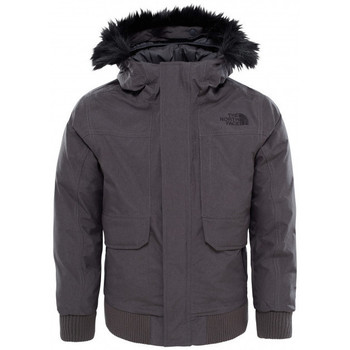 Vêtements Garçon Parkas The North Face Blouson  Gotham Down Junior - Ref. T934QBA55 Gris