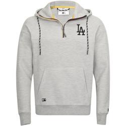Vêtements Homme Sweats New-Era Sweat à capuche  Tech Series Los Angeles Dodgers Gris