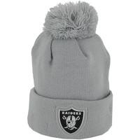 Accessoires textile Homme Bonnets New Era Bonnet  Logo Shine Oakland Raiders - Ref. 80524582 Gris