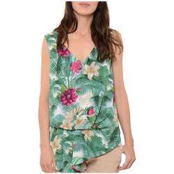Vêtements Femme Tuniques Kaporal Chemisier Tunik Clair Multicolore Vert