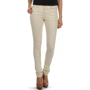 Vêtements Femme Jeans skinny Vero Moda JEAN  WONDER NW FOLD UP GRIS (sp)