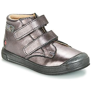 Chaussures Fille Baskets montantes GBB RACHEL Violet métalisé
