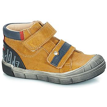 Chaussures Garçon Boots GBB REMI Camel