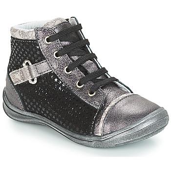 Chaussures Fille Baskets montantes GBB ROMIE Noir / Gris