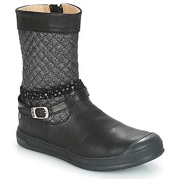 Chaussures Fille Bottes ville GBB ROLANDE VTS NOIR DPF/EDIT