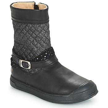 f3487115039f5 Chaussures Fille Bottes ville GBB ROLANDE Noir