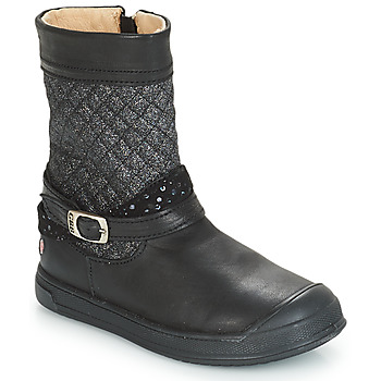 89e26566cfdee Chaussures Fille Bottes ville GBB ROLANDE Noir