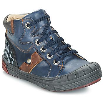 Chaussures Garçon Baskets montantes GBB RENZO Bleu