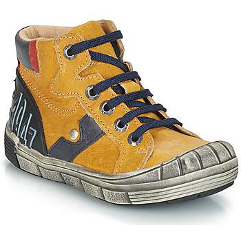 Chaussures Garçon Boots GBB RENZO VTE OCRE DPF/2831