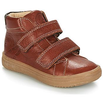 Chaussures Garçon Boots GBB NAZAIRE VTE FAUVE DPF/2835