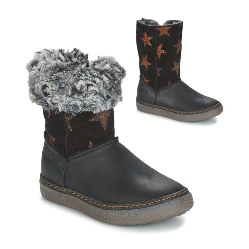 Fille Chaussures Bottes Dubrovnik NoirGris Ville Gbb MVpUzqS