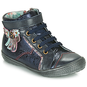 Chaussures Fille Boots Catimini ROSIER VTE MARINE DPF/2852