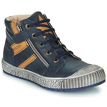 Chaussures Garçon Boots Catimini RAMBOUTAN Bleu