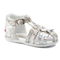 Chaussures Fille Sandales et Nu-pieds GBB SHANICE VTV NACRE-IMPRIME DPF/RENSA