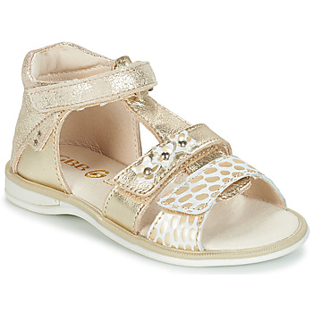 Chaussures Fille Sandales et Nu-pieds GBB SYLVIE Or