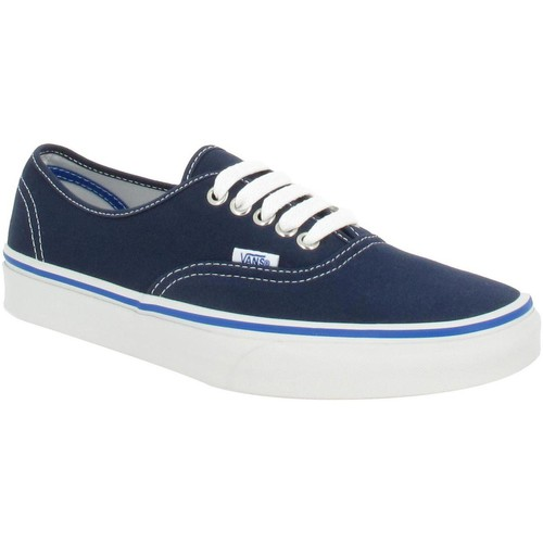 Chaussures Homme Baskets mode Vans Authentic toile Homme Bleu Nautical Bleu Nautical