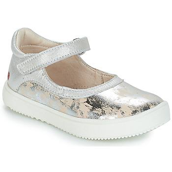 Chaussures Fille Boots GBB SAKURA VTE BEIGE-ARGENT DPF/DINNER