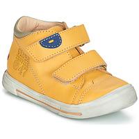 Chaussures Garçon Boots GBB SAMY VTE JAUNE DPF/SNOW