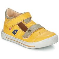 Chaussures Garçon Sandales et Nu-pieds GBB STEVE Jaune
