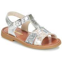 Chaussures Fille Sandales et Nu-pieds GBB SHANTI Argenté