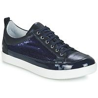 Chaussures Fille Bottes ville GBB ISIDORA Bleu marine