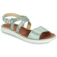 Chaussures Fille Sandales et Nu-pieds GBB ADRIANA VTE BLEU-POIS OR DPF/FULVIA