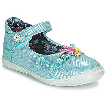 Chaussures Fille Sandales et Nu-pieds Catimini SITELLE VTE CIEL-ARGENT DPF/2851