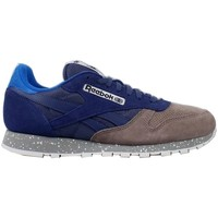 Chaussures Homme Baskets basses Reebok Sport Classic CL Leather SM Bleu marine