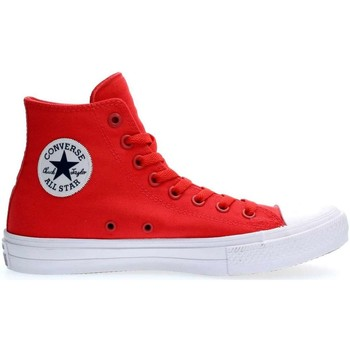 Converse 151119C CHUCK TAYLOR II SNEAKERS Homme RED RED - Chaussures Basket montante Homme