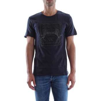Vêtements Homme T-shirts manches courtes Jack & Jones 12111550 JEREMIAH T-SHIRT Homme TOTAL ECLIPSE TOTAL ECLIPSE