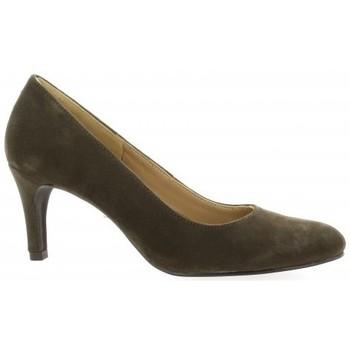 Chaussures Femme Escarpins Pao Escarpins cuir velours Taupe