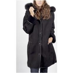 Vêtements Manteaux Giorgio Emma Noir Noir