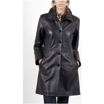 Vêtements Vestes en cuir / synthétiques Giorgio Emy Noir Noir