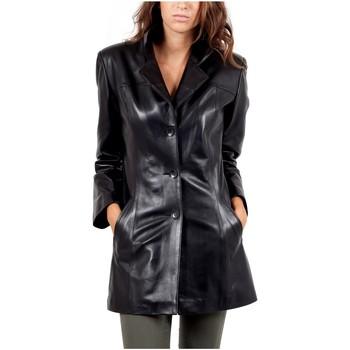 Vêtements Vestes en cuir / synthétiques Giorgio Kandida Noir Noir