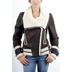 Vêtements Vestes en cuir / synthétiques Giorgio Tina Vieilli Vieilli