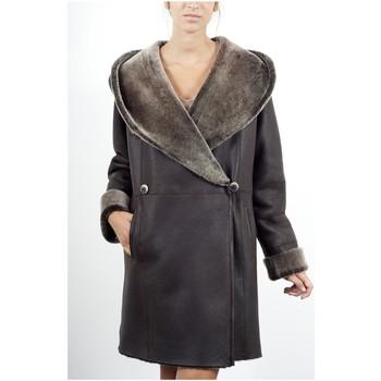 Vêtements Vestes en cuir / synthétiques Giorgio Lohan THUR Marron Marron