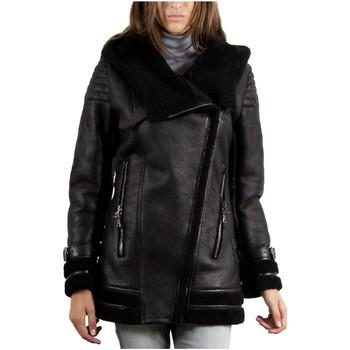 Vêtements Vestes en cuir / synthétiques Giorgio Victoria Noir Noir