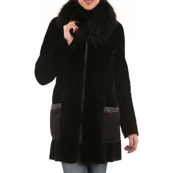 Vêtements Vestes en cuir / synthétiques Giorgio Kendal Soft Noir Noir