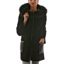 Vêtements Vestes en cuir / synthétiques Giorgio Ariana Soft Noir Noir
