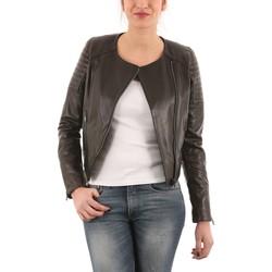 Vêtements Vestes en cuir / synthétiques Giorgio Joie Waxy Noir Noir