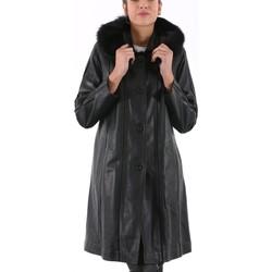 Vêtements Vestes en cuir / synthétiques Giorgio Rachel Noir Noir