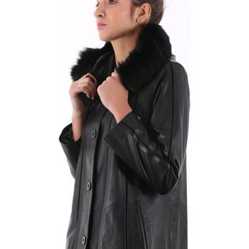 Giorgio Vestes En CuirSynthétiques Vêtements Noir Rachel 4RLAjq35