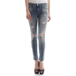 Vêtements Femme Jeans slim Met COLLY D1121 E129 6438 JEANS Femme DENIM LIGHT BLUE DENIM LIGHT BLUE