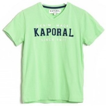 Vêtements Garçon T-shirts & Polos Kaporal T-Shirt  CLOTA Flashgreen (sp) Vert