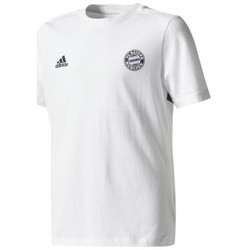 Vêtements Garçon T-shirts manches courtes adidas Originals FOOTBALL - T-SHIRT MANCHES COURTES JUNIOR BAYERN DE MUNICH blanc