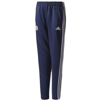Vêtements Garçon Pantalons de survêtement adidas Originals FOOTBALL - PANTALON BAYERN MUNICH TIRO JUNIOR 2017-2018 Marine