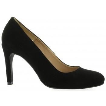 Chaussures Femme Escarpins Pao Escarpins cuir velours Noir