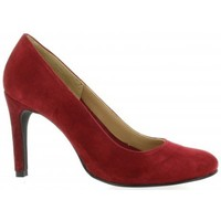 Chaussures Femme Escarpins Pao Escarpins cuir velours rouge