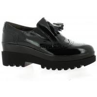 Chaussures Femme Mocassins Pao Mocassins cuir vernis Noir